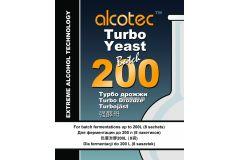 Спиртовые турбо дрожжи Alcotec Batch 200